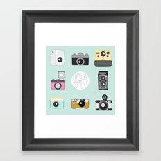 cameras Framed Art Print