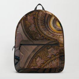 Ornamented spiral stairs Backpack