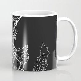 Wellington, New Zealand Street Map Coffee Mug