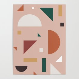 Abstract Geometric 31 Poster