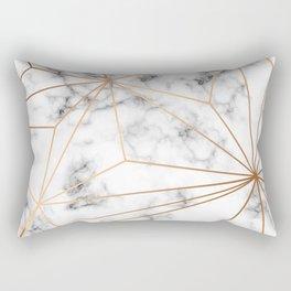 Marble & Gold 046 Rectangular Pillow