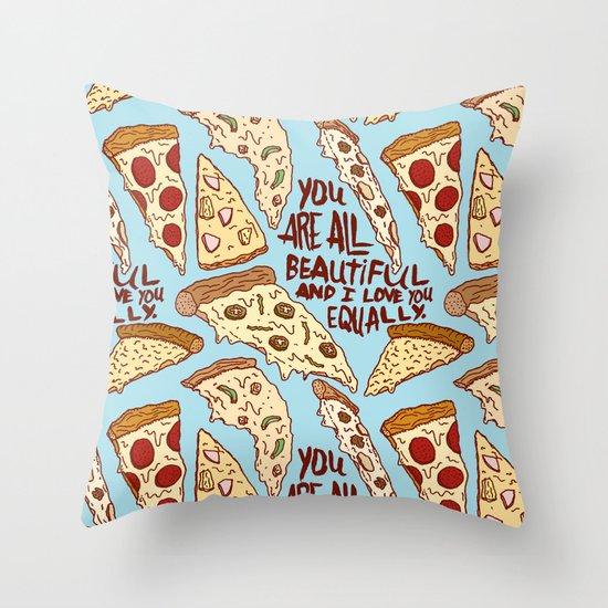 U R BEAUTIFUL Throw Pillow