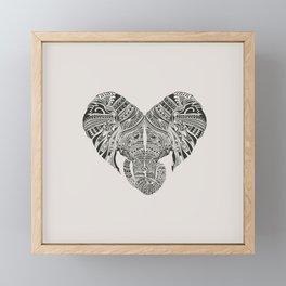 Huge Heart Framed Mini Art Print