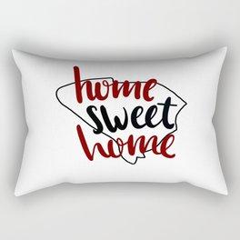 Home Sweet Home South Carolina Rectangular Pillow