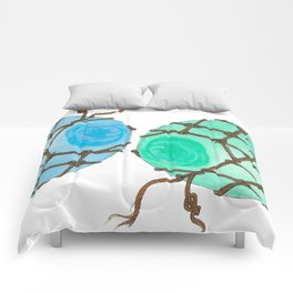 Glass Floats Comforters
