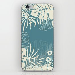 Tropical pattern 047 iPhone Skin
