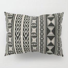 Boho Mud cloth (Black and White) Pillow Sham