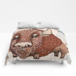American Buffalo Bison Southwest Southwestern Comforters