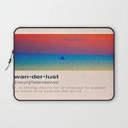 Wanderlust Laptop Sleeve
