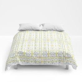 Yellow Batik Comforters