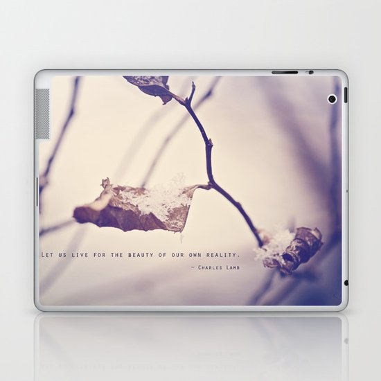 Live for the Beauty Laptop & iPad Skin