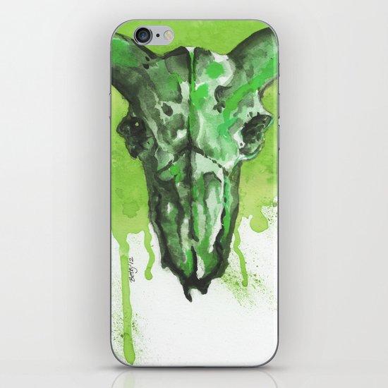 GreenMoonSkull iPhone & iPod Skin