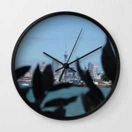 Nature Vs Skytower Wall Clock