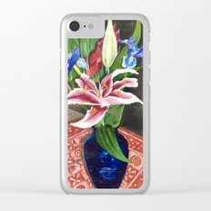 Fresh flowers Clear iPhone Case