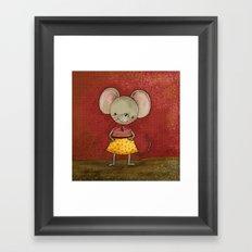 Danooshka the Mouse Framed Art Print