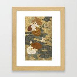 Ranchu Framed Art Print
