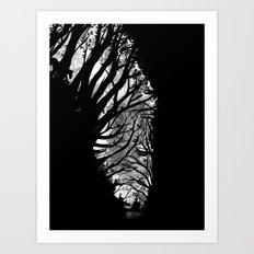 Nature Stripes Art Print