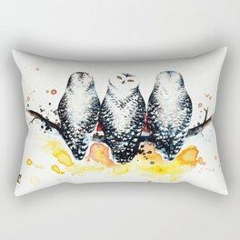 Owly sunset Rectangular Pillow