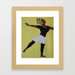 Praise Dancer Framed Art Print