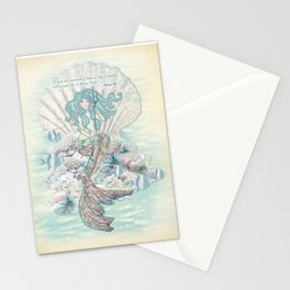 Anais Nin Mermaid [vintage inspired] Art Print Stationery Cards