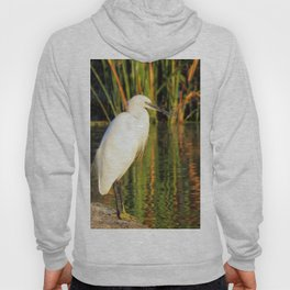 Egret at the lake Hoody