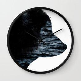 Ocean Husky Wall Clock