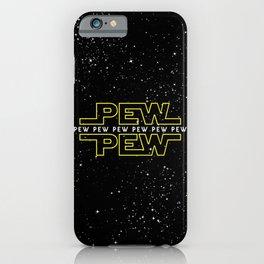 Pew Pew v2 iPhone Case