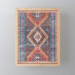 16 - Oriental Moroccan Artwork Farmhouse Rustic Style Framed Mini Art Print