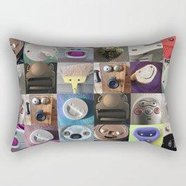Face Your Day! Rectangular Pillow