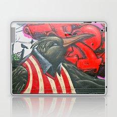 Raven graffiti Laptop & iPad Skin
