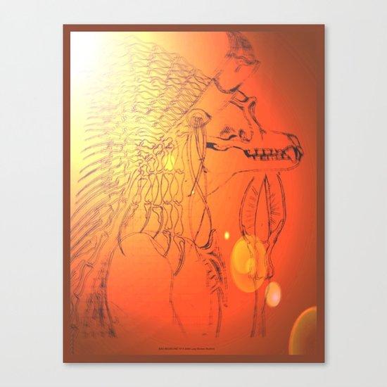 BAD MEDICINE 10 Canvas Print