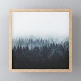 High And Low Framed Mini Art Print