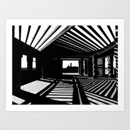 Shadows and Light Art Print