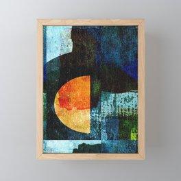 Half Moon Serenade Framed Mini Art Print