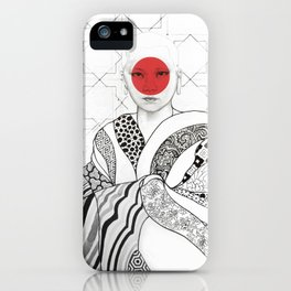 The Monk iPhone Case