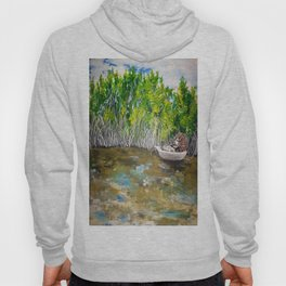 Florida Mangrove Tea Water in the Everglades Hoody