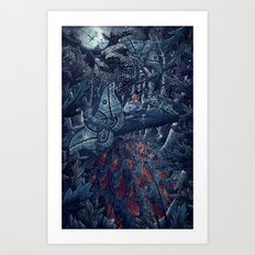 Kvothe's Legend Art Print