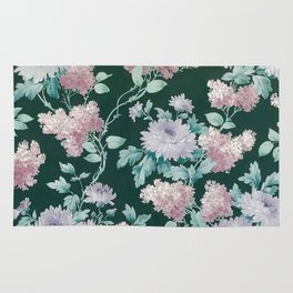 Floral Wall Rug