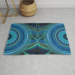 Workings Kaleidoscope Rug