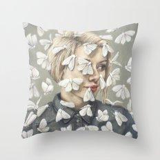 Flutter Throw Pillow