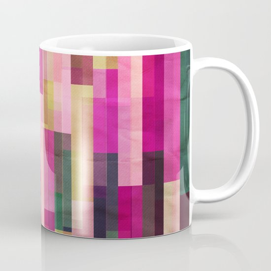 Pinks and Parallels Mug