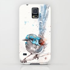 Mischief In The Making (Variegated Fairy Wren) Slim Case Galaxy S5