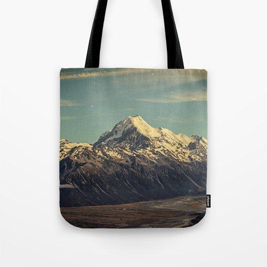 Vintage Mountain Tote Bag