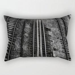 Tracks 1 Rectangular Pillow