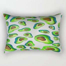 It's Raining Avocados Rectangular Pillow