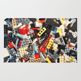Details of construction toys Rug