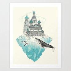 st peters-burg Art Print