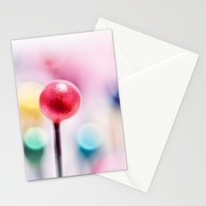 A pincushion in a very colorful mood... Stationery Cards
