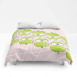Apple Halves Comforters
