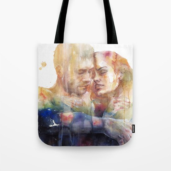 they could sense each other in the same light and in the same shadow Tote Bag